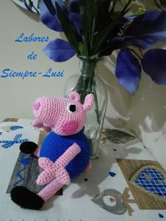 Peppa Pig free crochet pattern... - Amigurumi Today - Free ... | 320x240