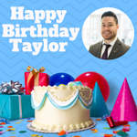Happy Birthday to the newest member of our team! Have an extraordinary day, Taylor!