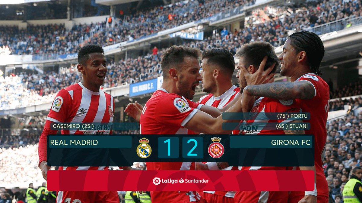FT Real Madrid - Girona 1-2 #PrimeraDivisión #ajanac #reagir