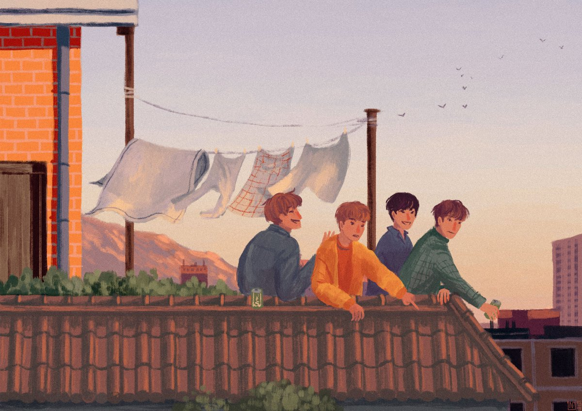 Rooftop #NFlying