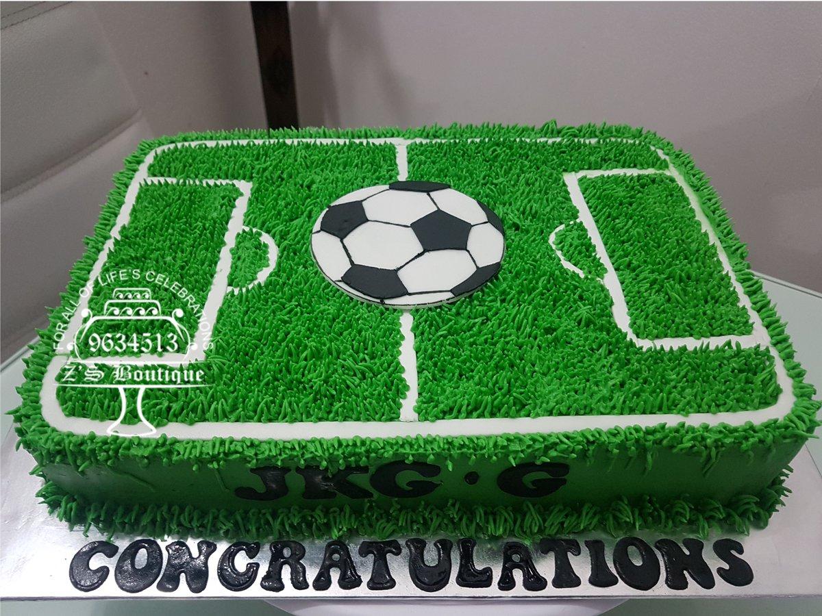 Sensational Footballpitchcake Hashtag On Twitter Funny Birthday Cards Online Aboleapandamsfinfo