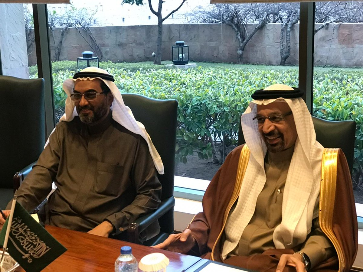 Just completed meeting with saudi minister for energy, industries and mineral resources , His Excellency Khalid Al-Falih and his team. Wide range of investment projects worth billions of dollars discussed. MOU signing later today. <br>http://pic.twitter.com/dMBGSijeP4
