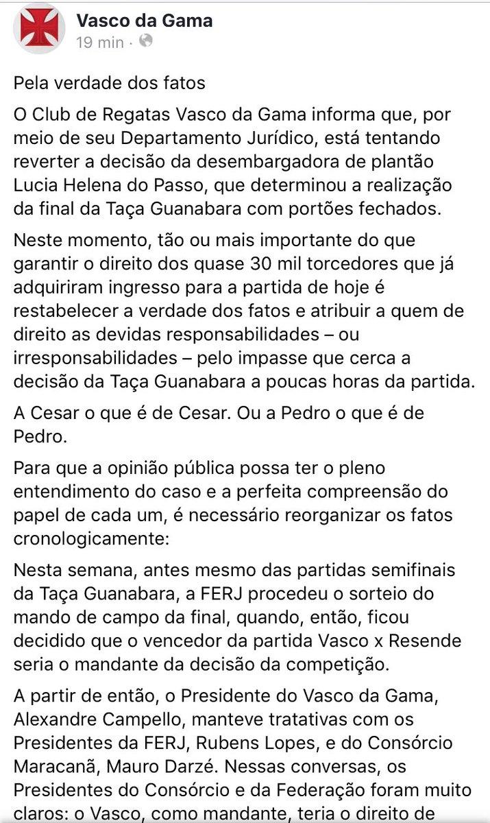 Frases Vasco Da Gama På Twitter Nota Oficial Do Vasco