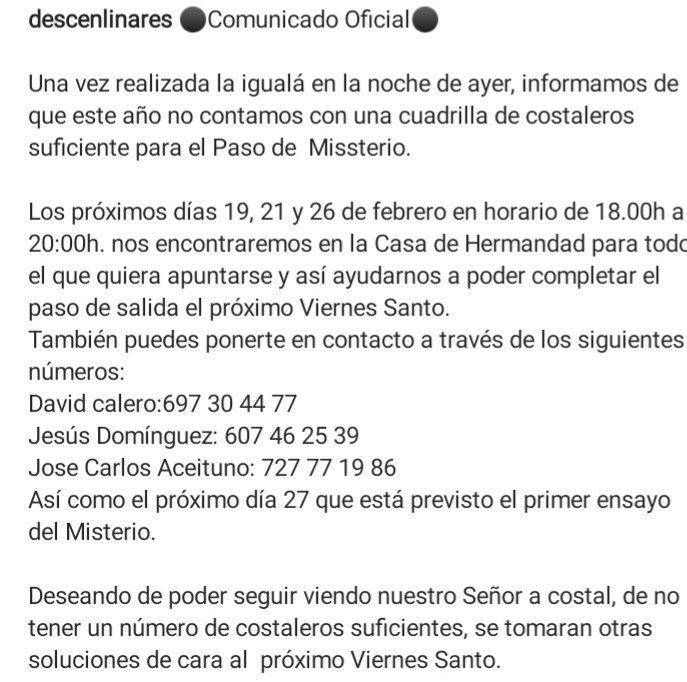 Semana Santa en Linares - Página 5 DznNBApX4AE28p9