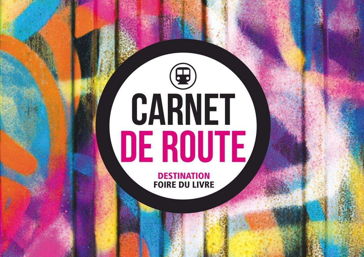 @foirelivrebxl : sur le stand 206 de la Fédération Wallonie-Bruxelles, retrouvez les activités proposées dans le Carnet de Route pour découvrir nos auteurs et autrices  https://go.shr.lc/2DRXF4m  #FLB2019 #FLB19 #enfants #famille #BXL