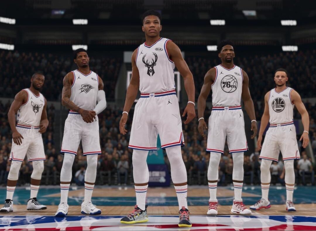 ALL STAR GAME  É HOJE, e quem leva ???  #TeamGiannis #TeamLebron  #NBAAllStar  @EASPORTSNBA LIVE 19 em PROMOÇÃO até 19/02  APROVEITE.