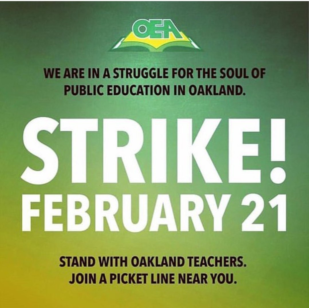 All #Solidarity with our comrades in #Oakland. Fighting for the schools our choldren deserve.