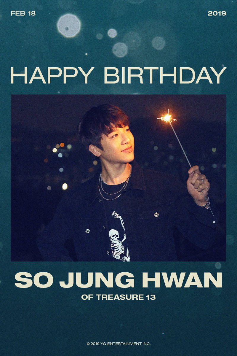 HAPPY BIRTHDAY #JUNGHWAN🎉  #TREASURE13 #트레저13 #SOJUNGHWAN #소정환  #HAPPYBIRTHDAY #YG