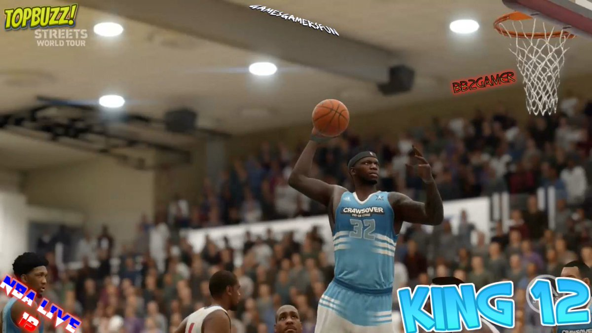 📣Its Your Boy BB2📣 Check out my #BB2GamerTopBuzz NBA LIVE 19 'KING 12' 😮 video posted now🏃🏾‍♂️more more more edits Coming Soon!🤔👀⏳ . . . . . . #topbuzzgamer #topbuzz #GamesGamersFun #TopBuzzer #nbalive #nbalive19 #newedit #striveforgreatness🚀 #GGFMovement #Gameplays #gaming