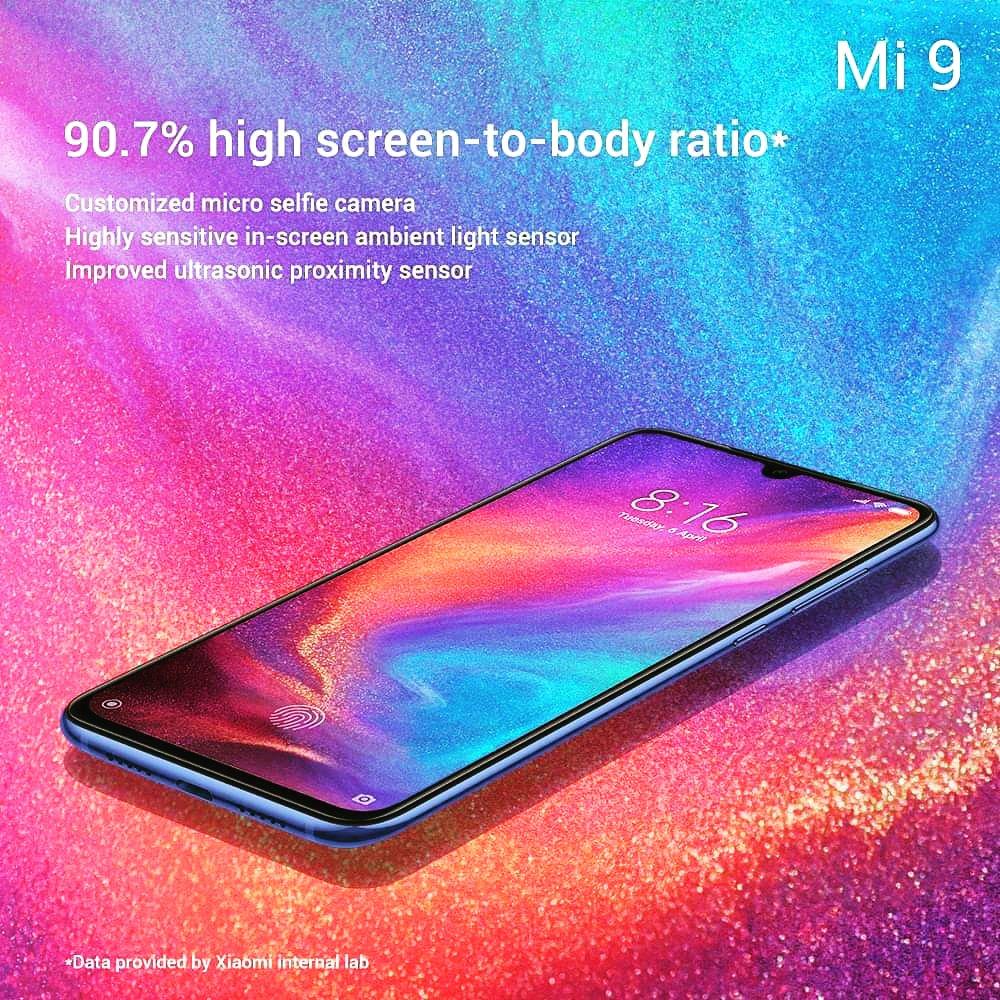 Xiaomi Mi 9 Smartphone With 90.7% High Screen-To-Body Ratio 🔥🔥 @xiaomiindia @xiaomi @leijun #Xiaomi #xiaomiindia #Mi9 #technology #tech #techie #gadgets #blog #blogger #geek #techgeek #technews #techupdates #news #firstlook #smartphone #innovation #48MP #comingsoon #launch