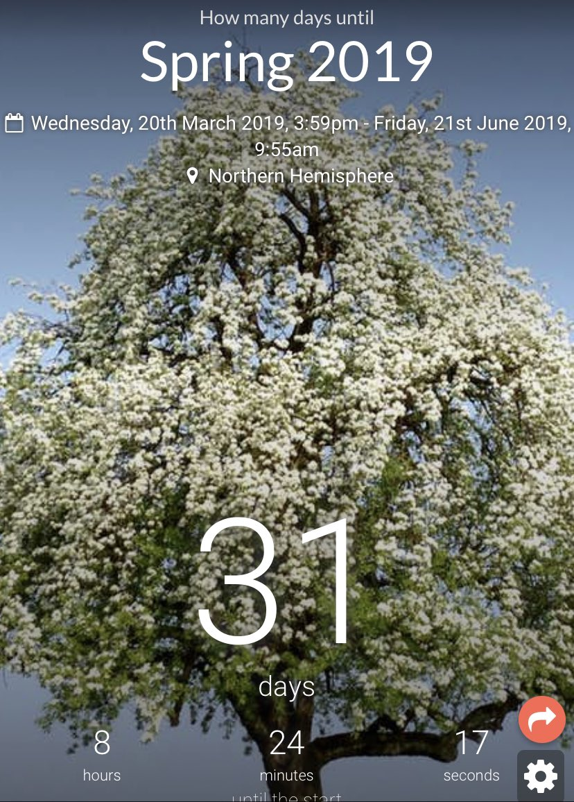 Can you believe we are only 31 days away from the first day of Spring? I am so ready! #COWX #Snow #Spring #ByeWinter