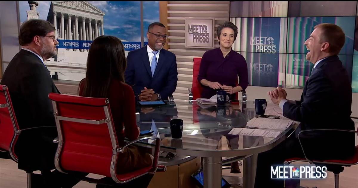 FULL PANEL: Trump's emergency triggers questions over Constitutional crisis. #MTP  https://t.co/MTPlQS93WZ
