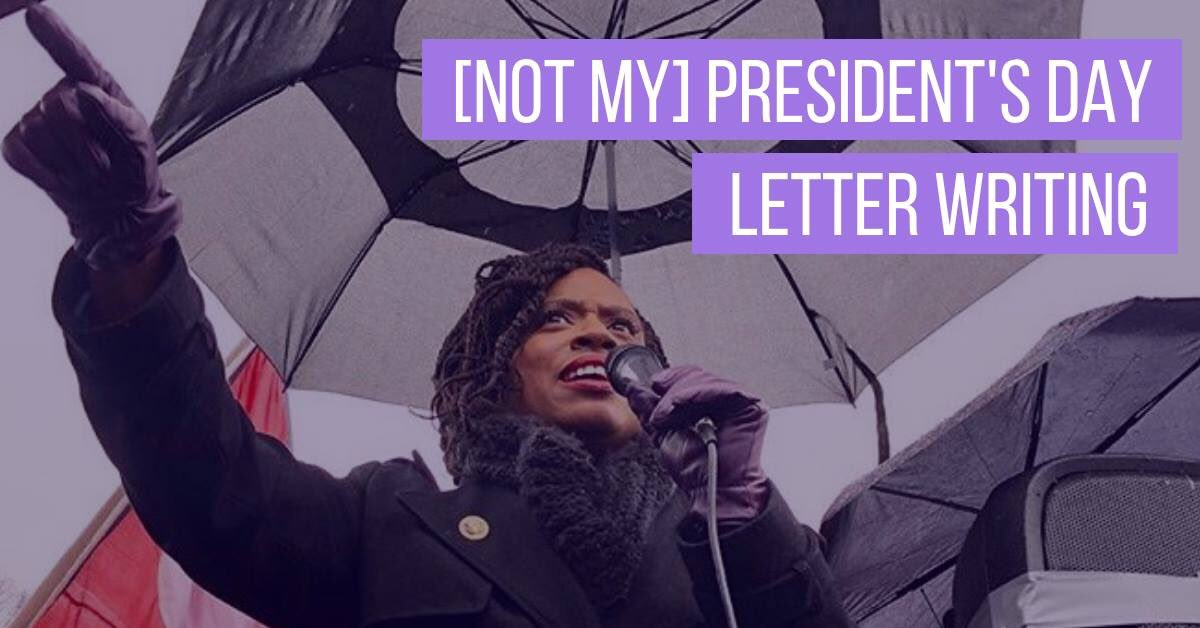 Want to send a letter to the current occupant of the White House with @AyannaPressley and tell him how you feel?   Tomorrow @ 10:30am, Cambridge Community Center. #mapoli #CambMA   Details: https://www.facebook.com/events/292400458337690/?ti=ia…