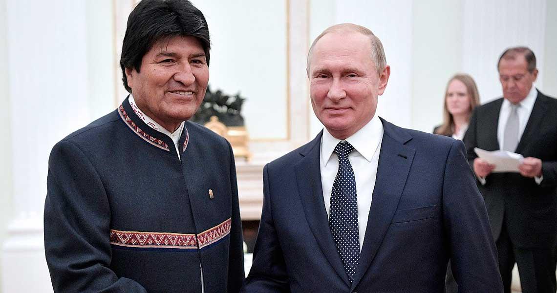 #Internacionales Putin se reunirá en Moscú con Evo Morales https://t.co/C8GXQLGogZ