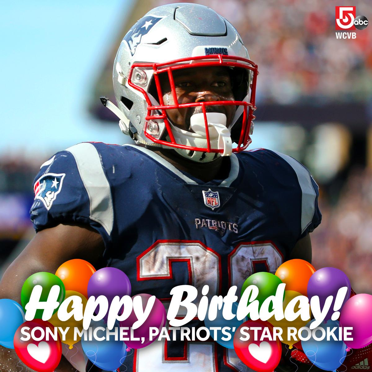 #HappyBirthday to @Flyguy2stackz, the rookie who scored the lone #touchdown in the @patriots #SuperBowl victory!