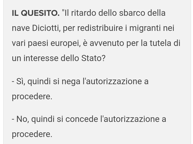 Questa è la domanda che il m5s ha scelto di fare per nascondere la vera posta in gioco nella richiesta di autorizzazione a procedere contro Salvini. Manca solo lo scappellamento a destra, ma per il resto ci siamo: un partito fondato da un comico gestito ufficialmente da pagliacci