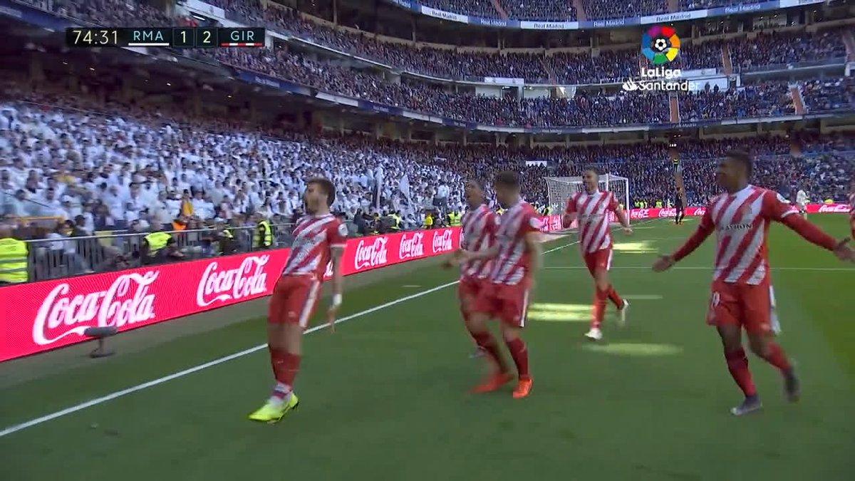 """هكذا جاء فوز """"جيرونا"""" على """"ريال مدريد"""" 🔴⚽  ملخص المباراة 📺  #RealMadridGirona"""