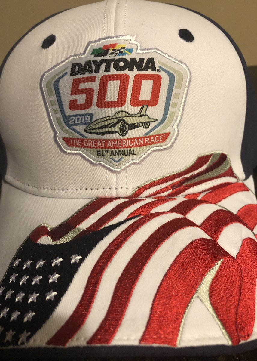 It's Race Day here @DISupdates, RT your winner for a chance to win this hat. #Daytona500 #NASCAR #daytonainternationalspeedway