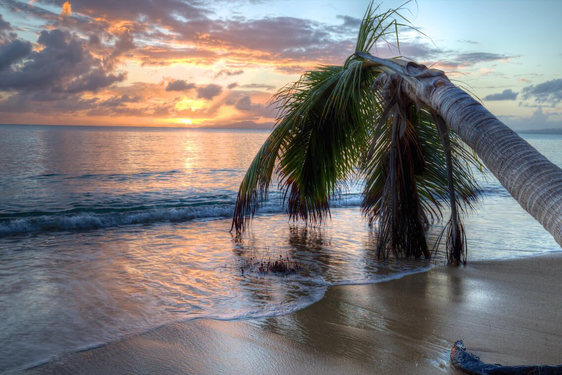 Relax and enjoy a soothing sunset at Vieques National #WildlifeRefuge. Pic by Keenan Adams #PuertoRico