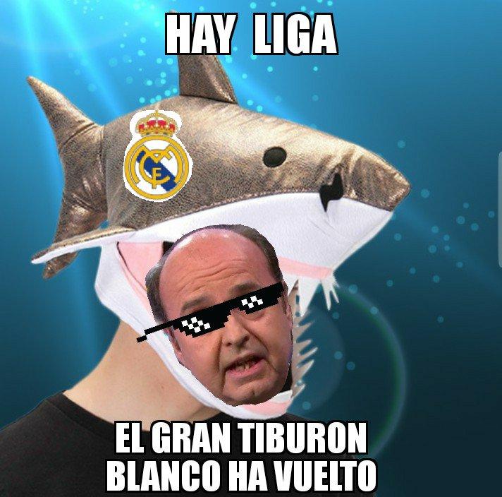 No se puede ser mas gafe #RealMadridGirona #LaLiga #hayliga #HalaMadrid #ElChiringuitoDeMega #ForçaBarça