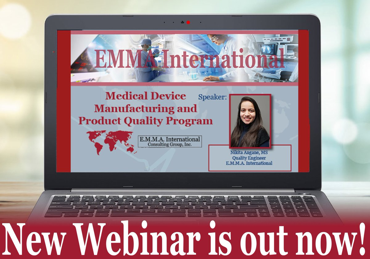 Catch our NEWEST WEBINAR tomorrow! View this webinar tomorrow at 2 pm EST! You can register at https://attendee.gotowebinar.com/rt/523138132782532098… #Register #Webinars #MedDevices #Product #EQMS  #QA