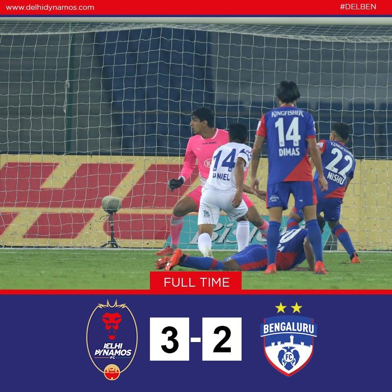 Full Time: The mighty blues have been tamed at the den!   #RoarWithTheLions #DELBEN