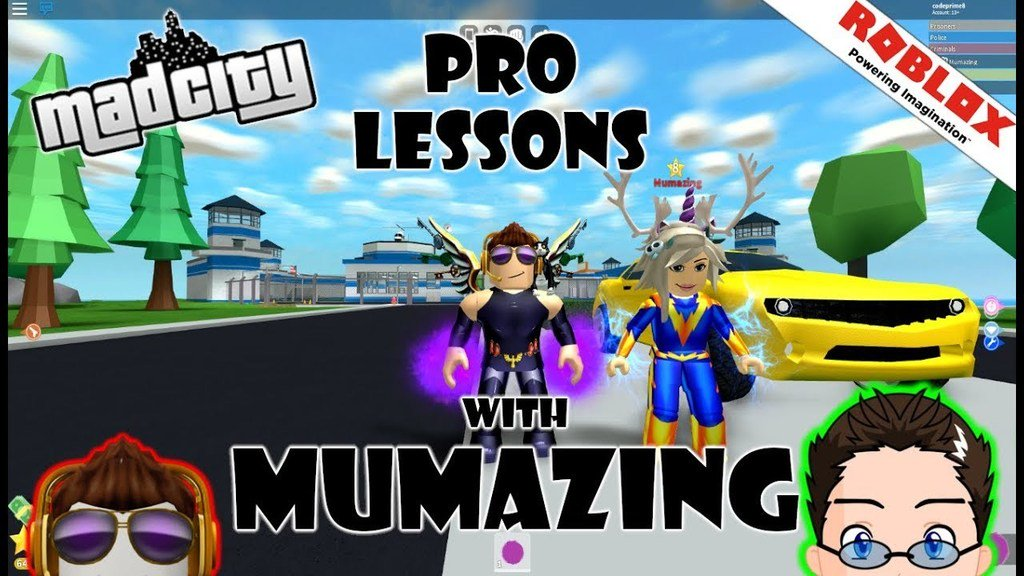 Codeprime8 On Twitter Roblox Madcity Teaching Mummy To