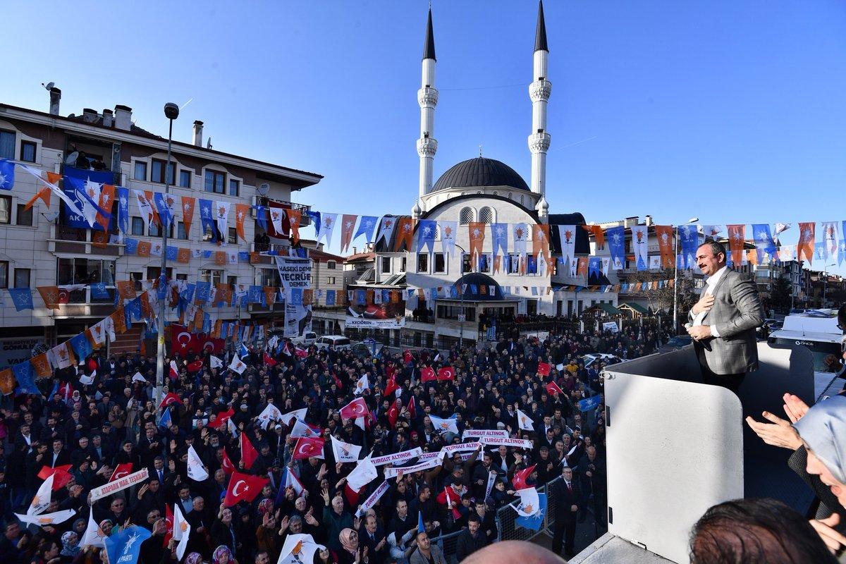 Milli Eğitim Bakanımız @ziyaselcuk, MHP Genel Başkan Yardımcısı @yasaryldrmMHP, Vekilimiz @zyildiz_ ile açılışını gerçekleştirdiğimiz Atapark Seçim İrtibat Ofisimiz hayırlı olsun.   31 Mart'ta Keçiören'de @turgutaltinok06 ✔ Büyükşehir'de @mehmetozhaseki ✔  #MemleketİşiGönülİşi