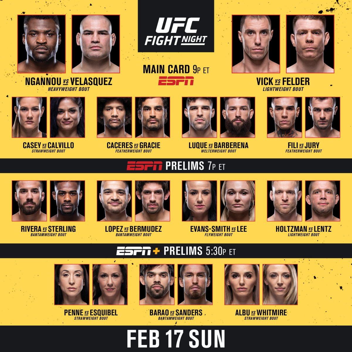 UFC's photo on #UFCPhoenix