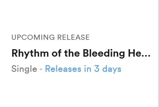 Rhythm of the Bleeding Heart