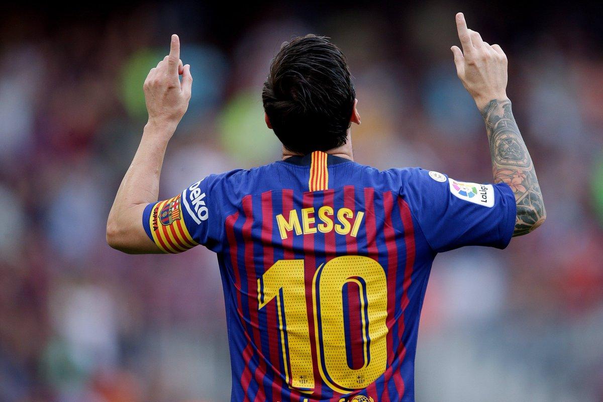 Lo creas o no, Barcelona es un equipo de un solo hombre. #Barça #D10S