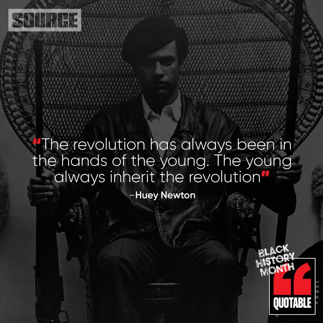 The Source Black History Icon Of The Month: Huey Newton https://t.co/1LXOBsbsF1