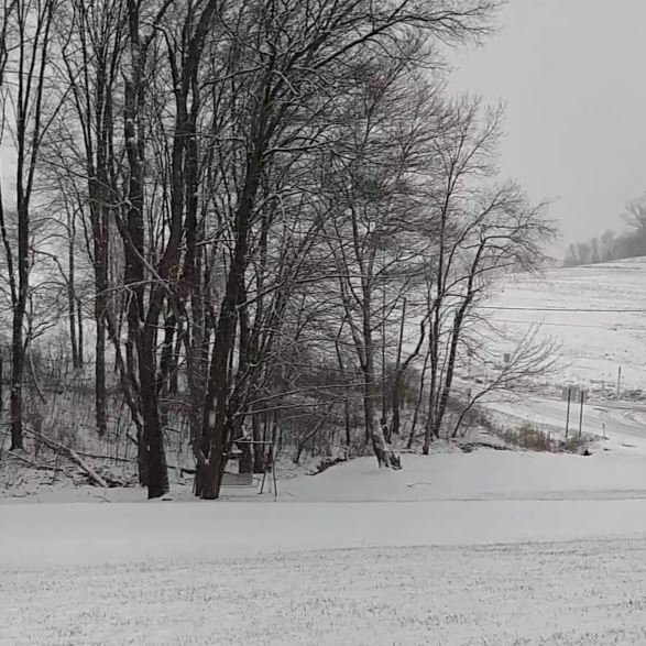 #WEATHER : A KDKA viewer in the Chicora area of Butler County sent us this photo after heavy snow fell just before 4 p.m.  SEND US YOUR PHOTOS:https://t.co/V1PCQ8yPaq  KDKA WEATHER APP:https://t.co/I0oFopKtYa  MORE WEATHER:https://t.co/nIJc37Hmuu