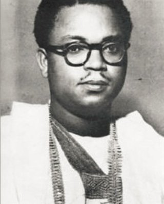 Chief Anthony Eromosele Enahoro (22 July 1923 – 15 December 2010) was one of Nigeria&#39;s foremost anti-colonial and pro-democracy activists.   In 1953, Enahoro became the first to move the motion for Nigeria&#39;s independence which was eventually granted in 1960.  #NigeriaDecides2019 <br>http://pic.twitter.com/BGOD9YYqmi