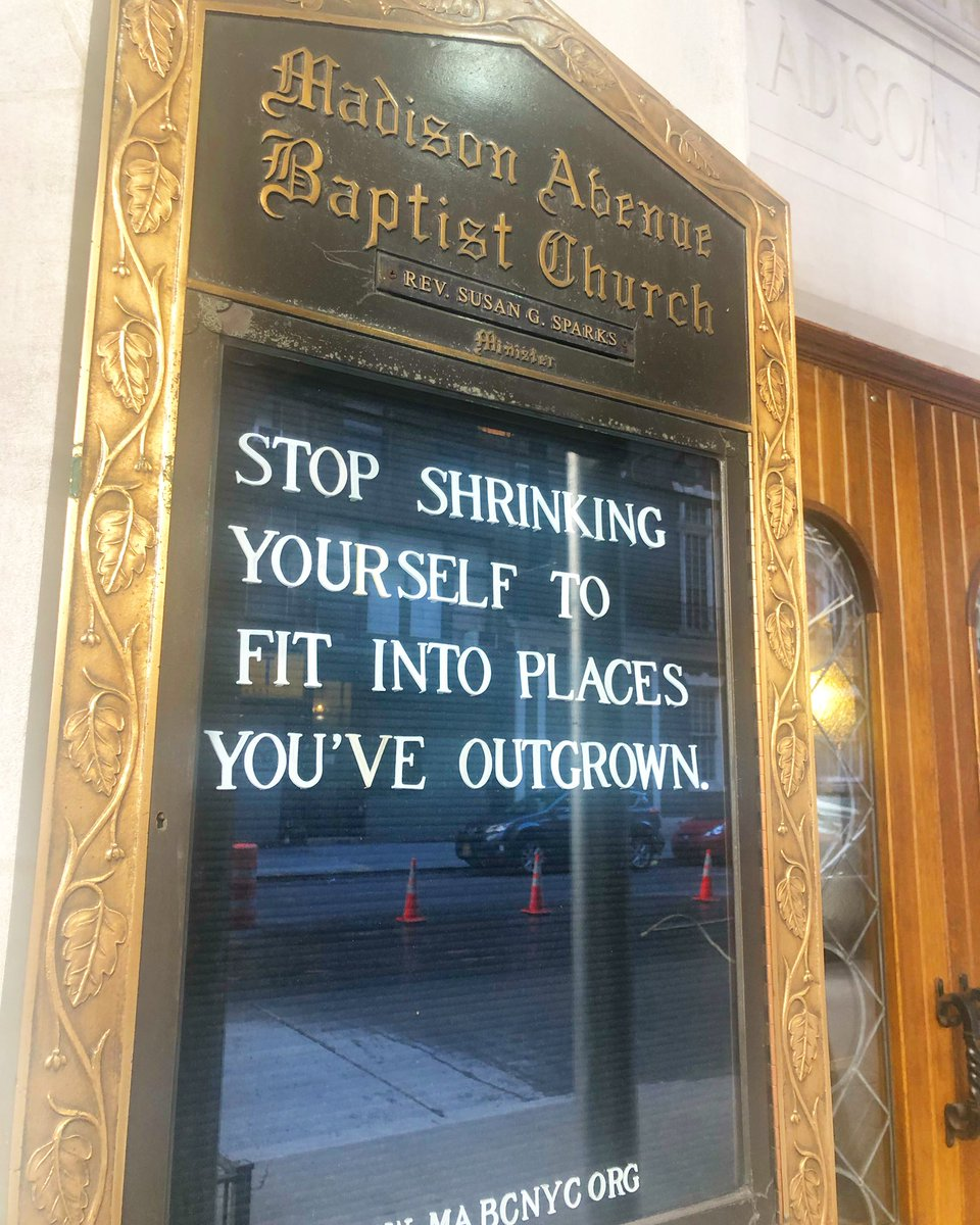 Needed to share one more time. @madavebaptist A message I tell the young ladies I mentor(and myself). #sunday #sign So nice say it twice..