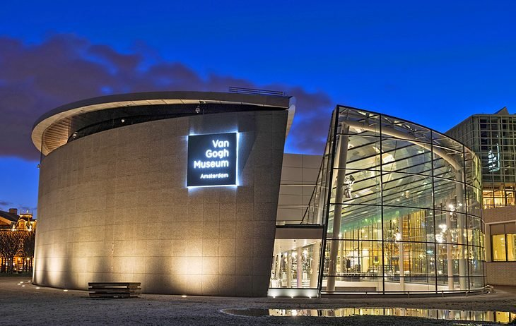 A #must-visit for #art fans and historians, the #spectacular Van Gogh #Museum has been one of #Amsterdam's top #attractions since it opened in 1972. - http://SAVEATRAIN.COM