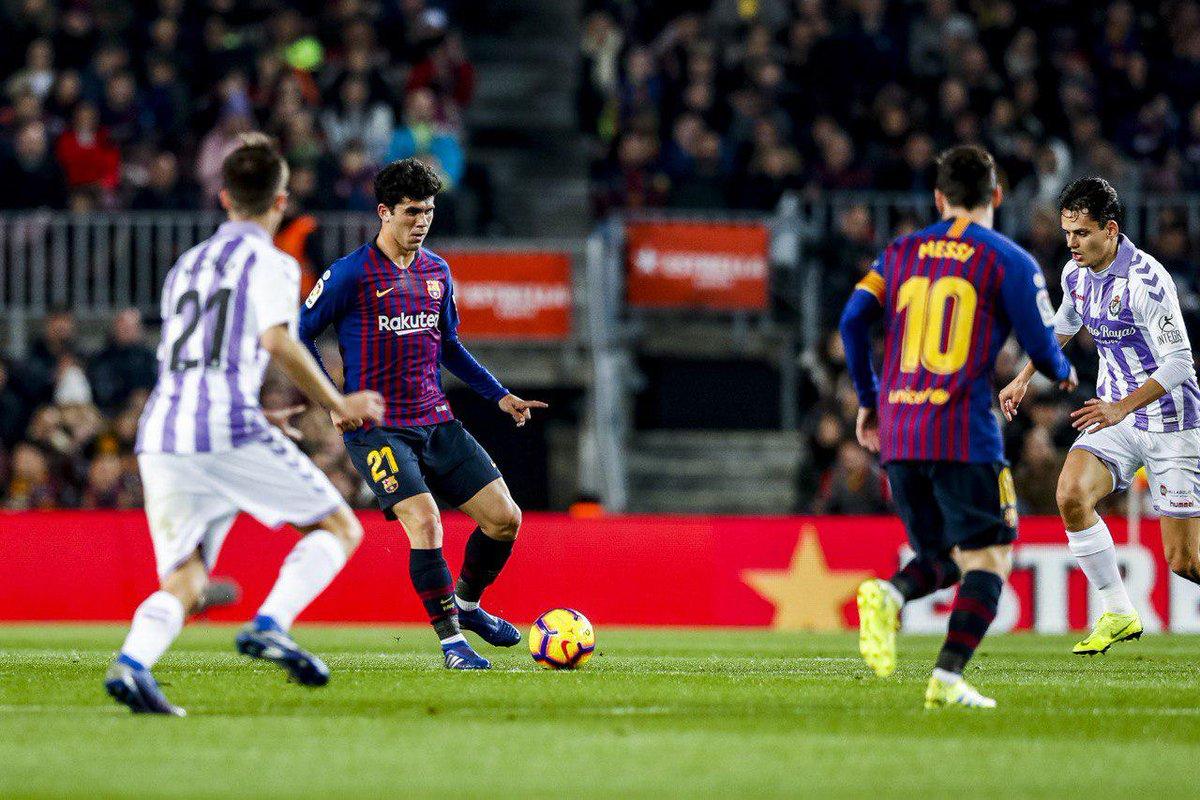 Malanga News Sports 45: Yesterday. FC Barcelona 1 vs Real Valladolid 0 / S... https://t.co/qoHt3teoE9 @FCBarcelona @realvalladolid @LaLigaEN @elchiringuitotv @rfef https://t.co/vGoHxUmkDl