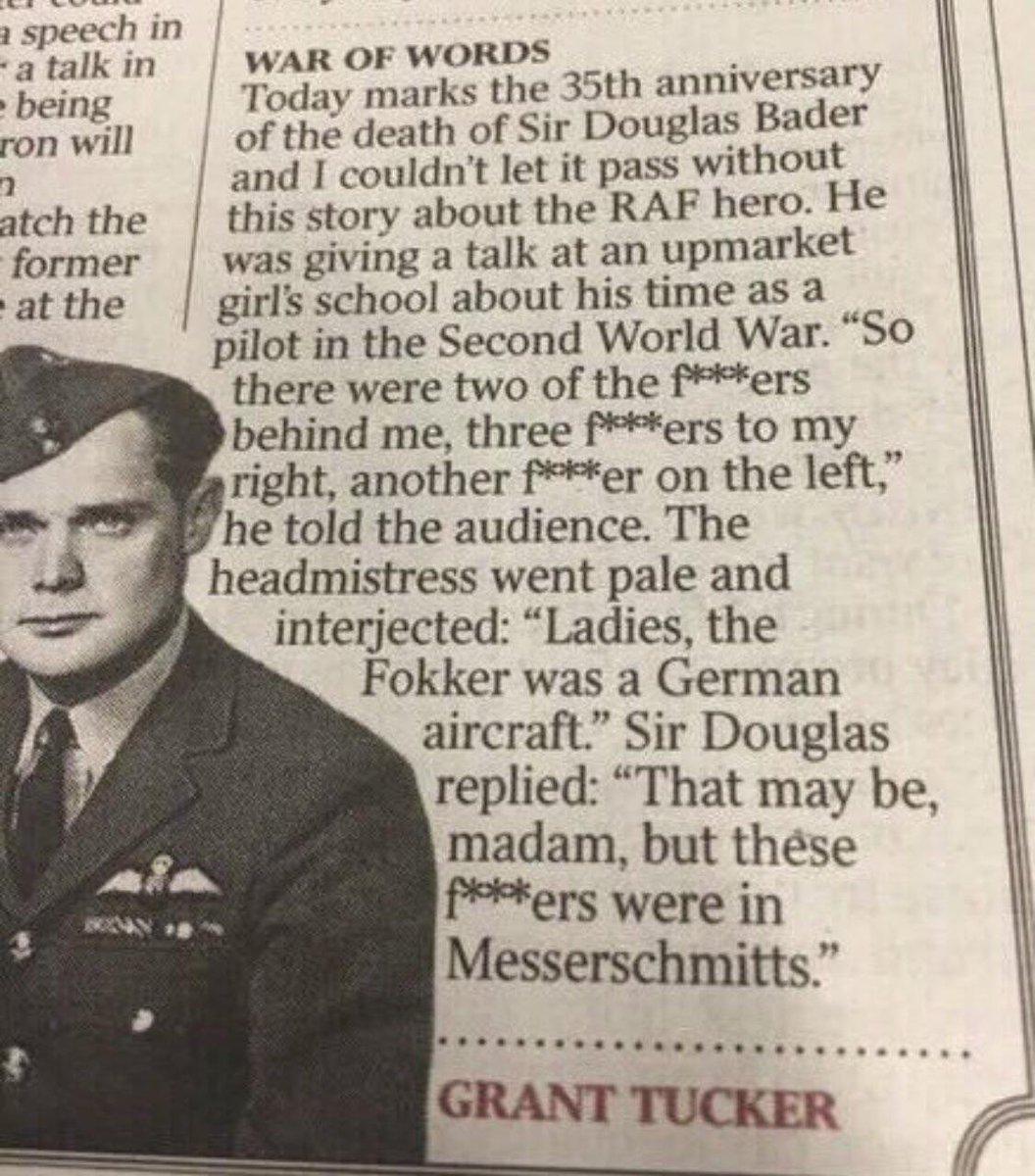 One brave mother Fokker