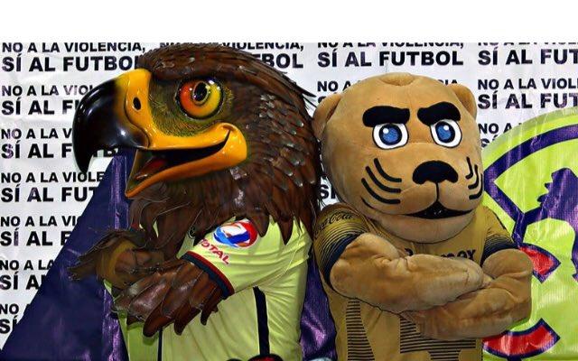 Miguel España's photo on Pumas vs América