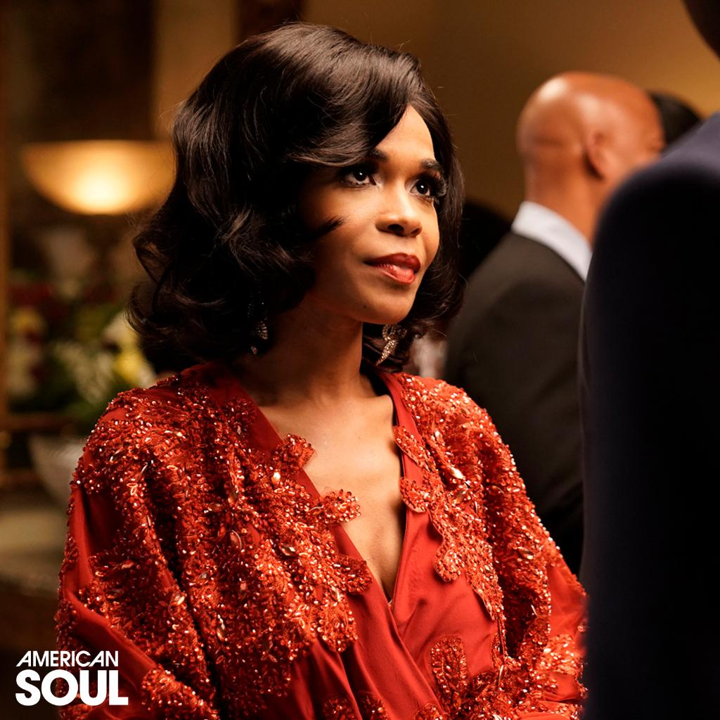 Get ready! Michelle Williams (@RealMichelleW) will portray the legendary Ms.#DianaRoss on an all-new episode of &#39;American Soul&#39; this TUES 9/8c! #AmericanSoulBET  | : Jace Downs/BET<br>http://pic.twitter.com/tyKMnfPY3Q
