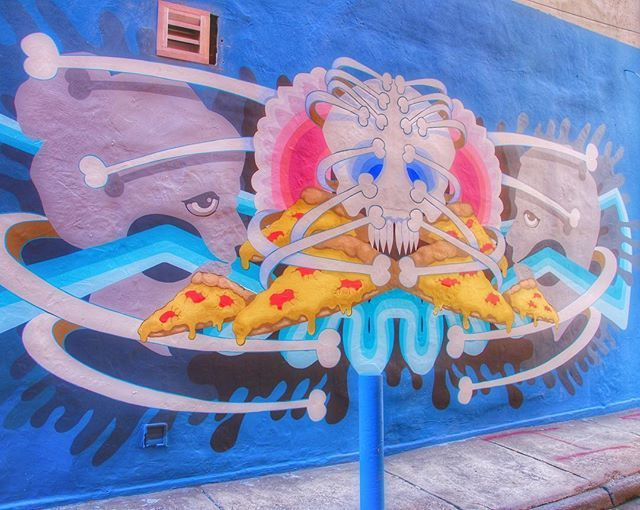 Yes, there will be pizza after death! Art by @acrawfordart 🍕🍕🍕 #art #streetart #mural #pizza #food #death #skull #igers_philly #howphillyseesphilly #phillyprimeshots #philadelphia #philly #phillygram #phillymasters #phillyunknown #whyilovephilly http://bit.ly/2SKeMzn