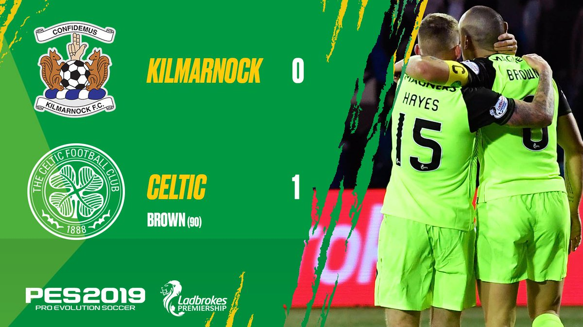What a finish!! 😅  The Hoops go eight points clear at the top of the #SPFL Premiership table! 🙌  #KILCEL 🔵🍀