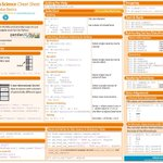 Image for the Tweet beginning: Data Science Cheat Sheets. #BigData