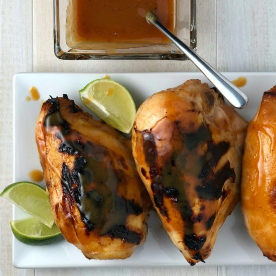 Peach & Jalapeno Barbecue #chicken. #foodtravel http://bit.ly/2rMRZTp