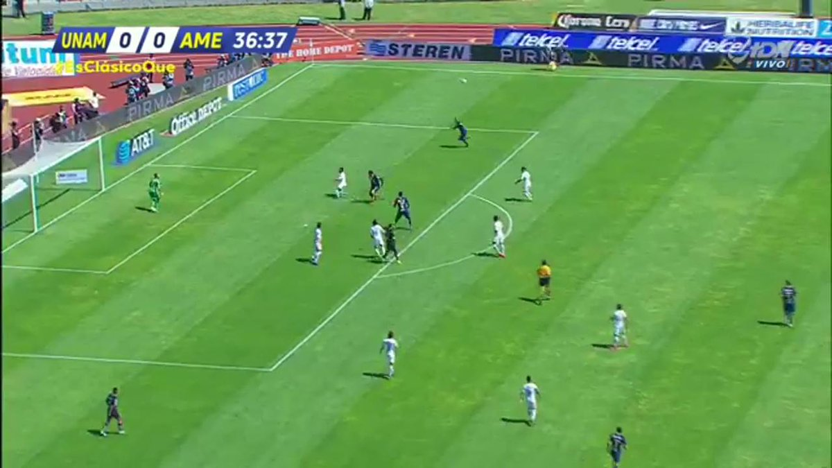 TDN's photo on Pumas vs América