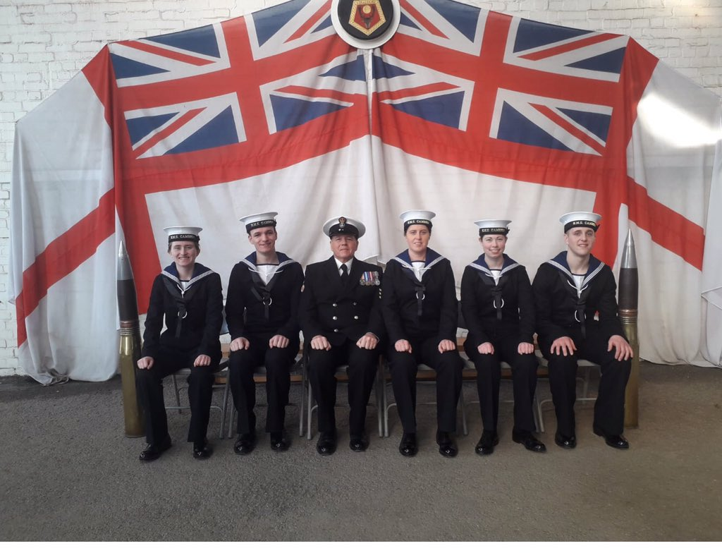 Well done to our Cambrians - AB Nevett, Morris, Price, Boycott and Jones who completed their Initial Training at @HMS_Raleigh. Your journey in the @RNReserve starts here. 🇬🇧🏴