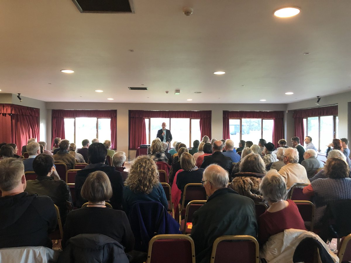 .@Andrew_Adonis @EUmoveMACC @EuropeanMovemen @EMSouthCheshire Huge thanks to Andrew, what a fantastic afternoon talking all things #BrexitisCrap . @LauraSmithMP, were your ears burning...this is how many people turned up with a 3 day notification of the last minute event.
