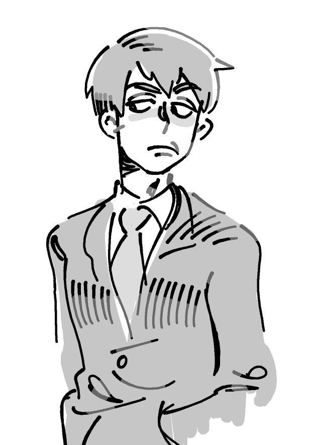 there's no reason why it's taken this long for me to draw mob fanart