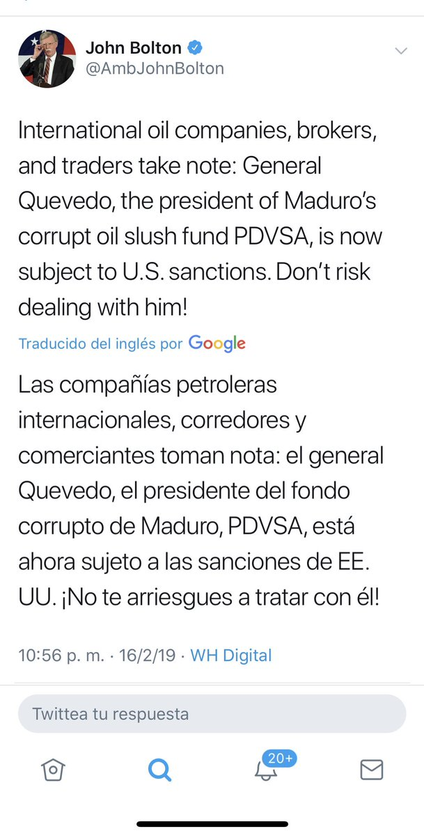 Maduro: Si algo me pasa, ¡retomen el poder y hagan una revolución más radical! - Página 8 DzoW1hJW0AEqTv3