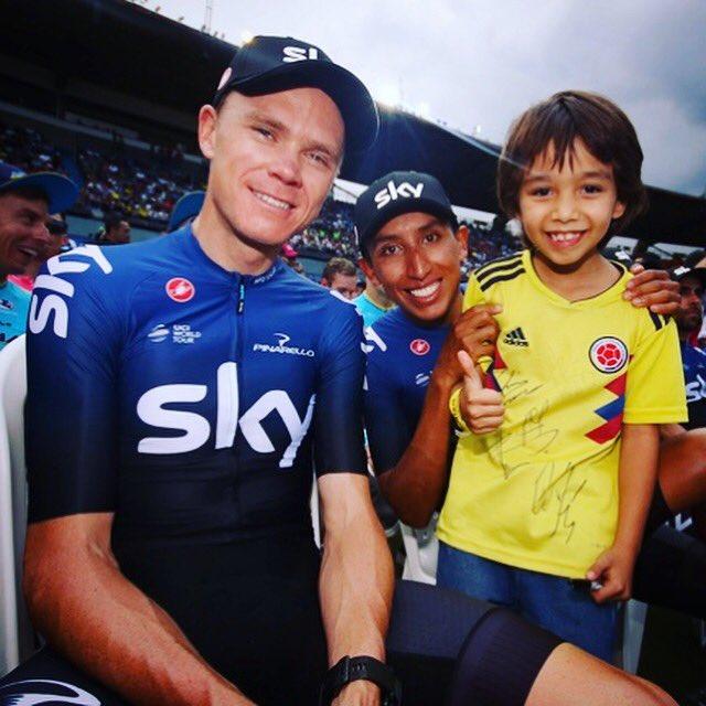 Muchas gracias por el bienvenido tan impresionante durante #TourColombia2019 Claro, quería andar un poco mejor en la carrera pero estoy seguro que el tiempo aquí va a ser importance para la temporada. Tengo ganas de volver a #Colombia pronto 🇨🇴 💛💛💙❤️🙏🙏🙏  #cycling